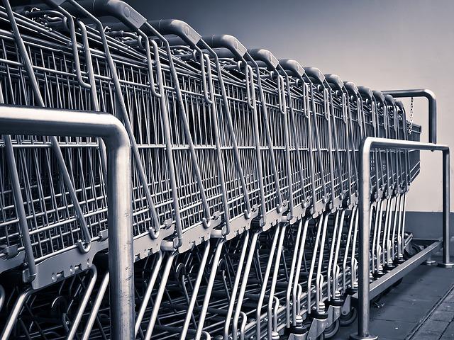 vozíky k nákupu