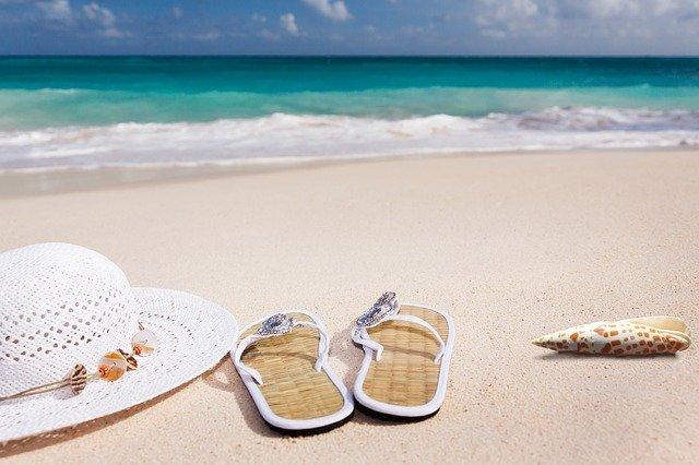 pláž, moře