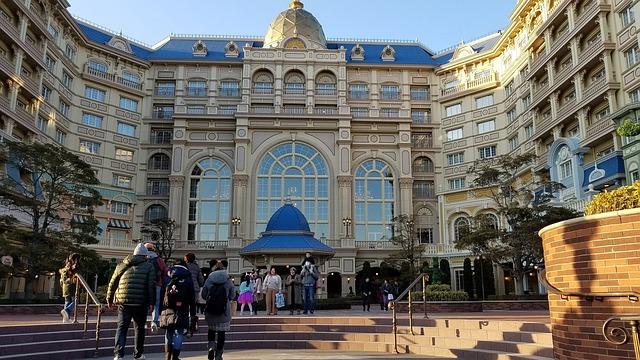 Hotel v Disneylandu
