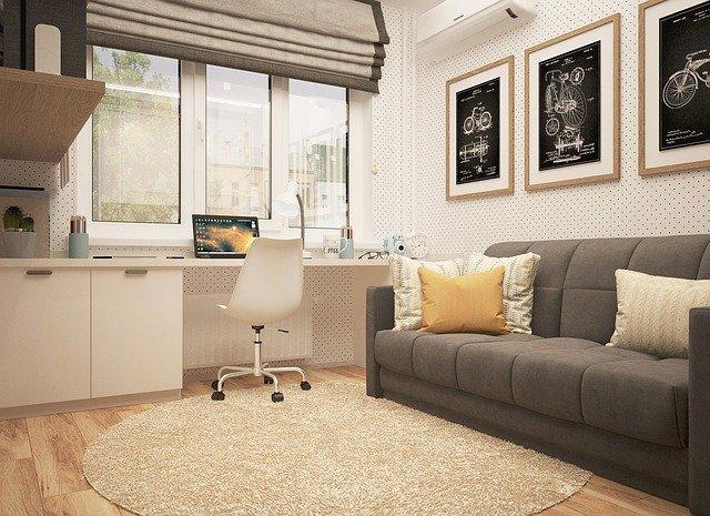 Moderně vybavený pokoj