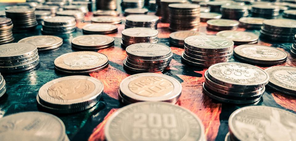 kolumbijské mince